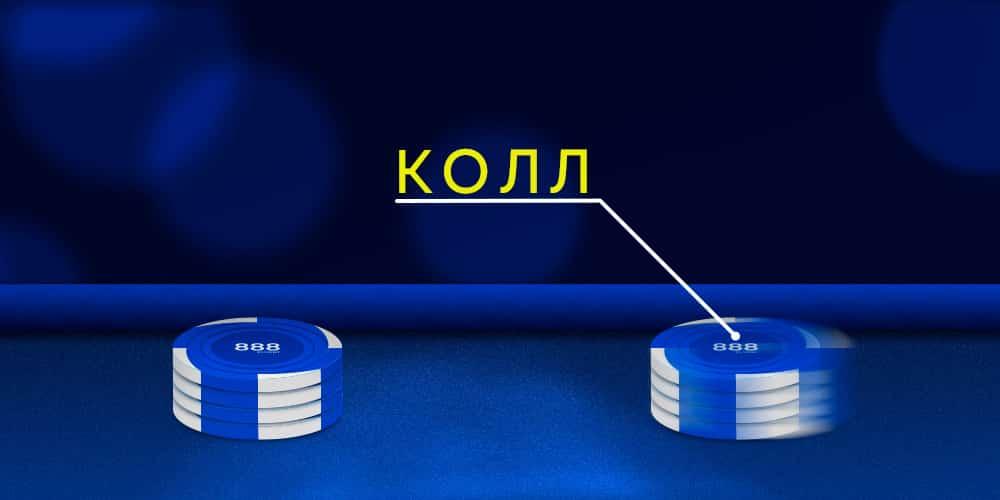 Колл в покере.
