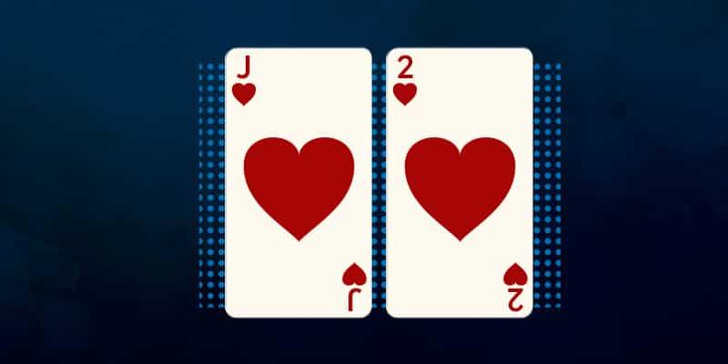 Несвязанные фигуры в покере.