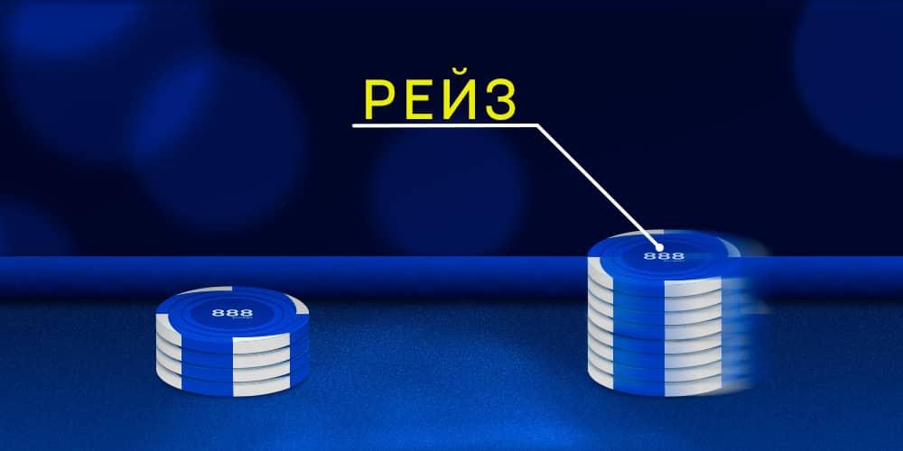 Рейз в покере.