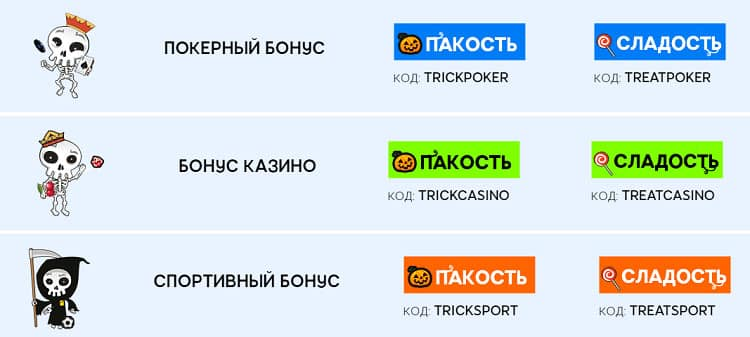 Trick or Treat от 888poker