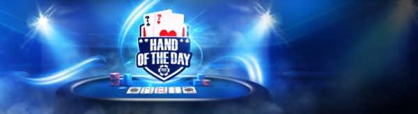 В Hand of the Day на 888poker можно выиграть до 1 тысячи долларов
